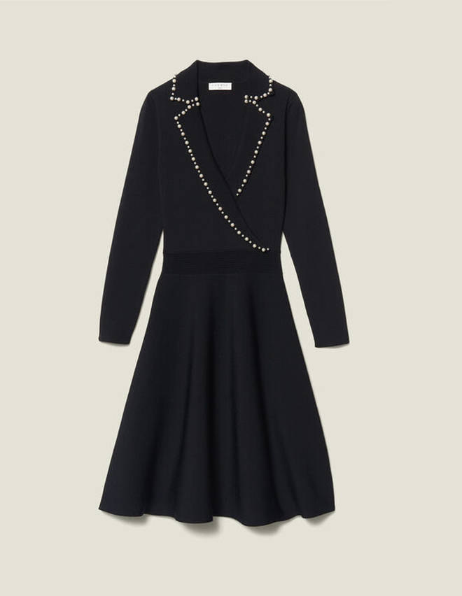Holly Willoughby's dress is from Sandro Paris