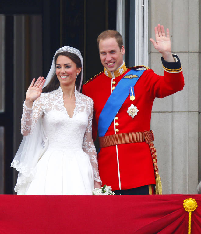 The Duke and Duchess of Cambridge will be celebrating their ninth wedding anniversary