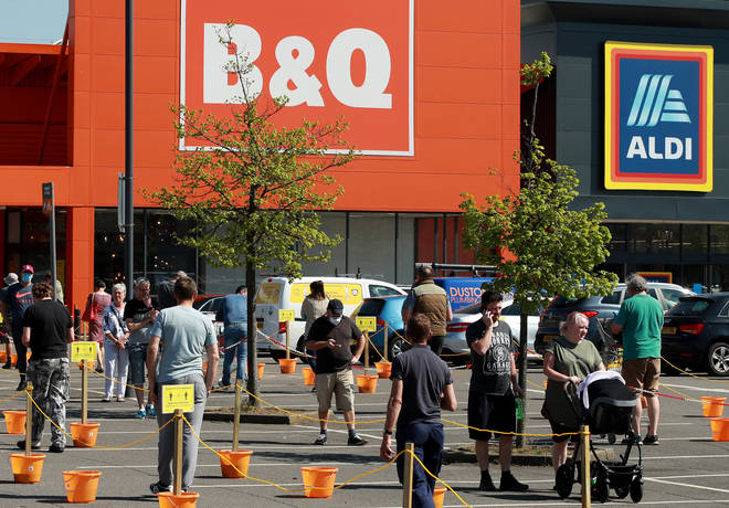B&Q reopened UK stores this week while others start trails