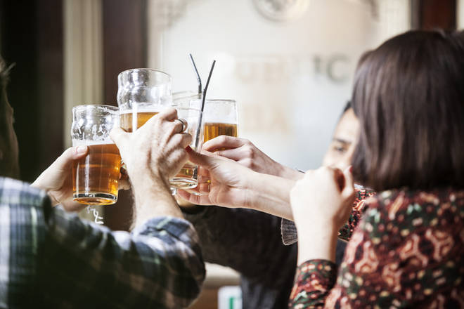 The country will be in celebration as soon as the pubs re-open