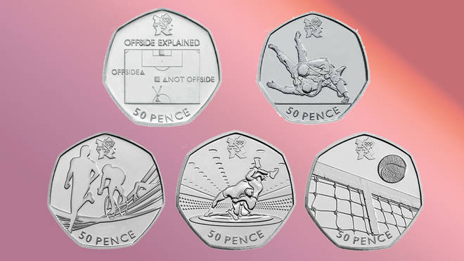 These London 2012 Olympics coins are also very sought after at the moment