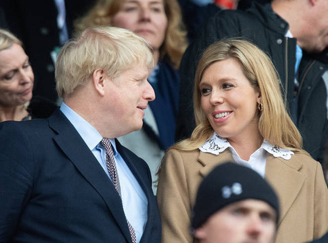 Boris and Carrie announced their baby and engagement news in a joint statement