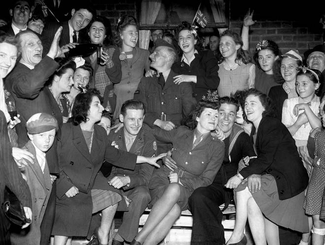 VE Day was on May 8 1945 and marked the end of WW2 in Europe