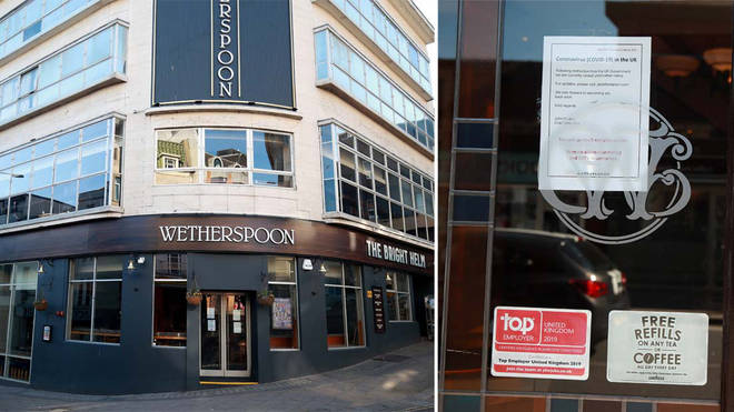 Wetherspoons plans to reopen pubs 'in or around June'