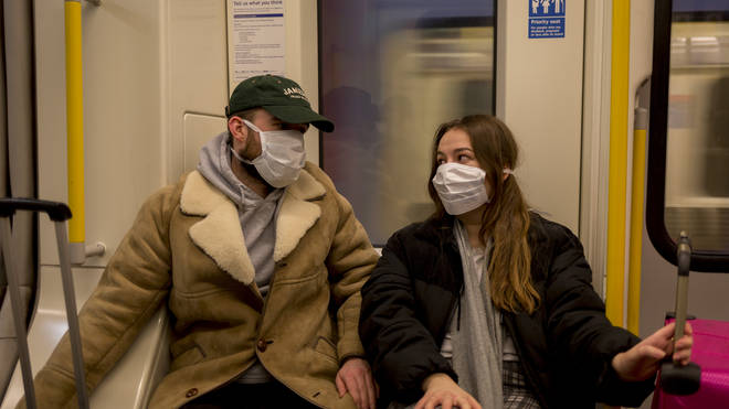 The Health Secretary Matt Hancock said that the UK Government's stance on face masks has remained the same