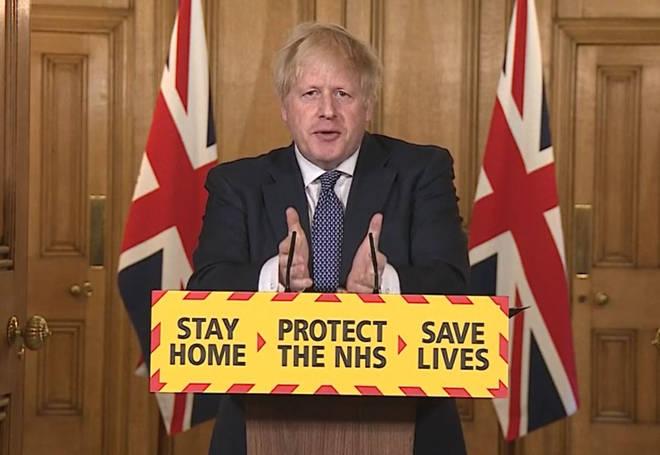 Boris Johnson says we are 'past the peak' of coronavirus