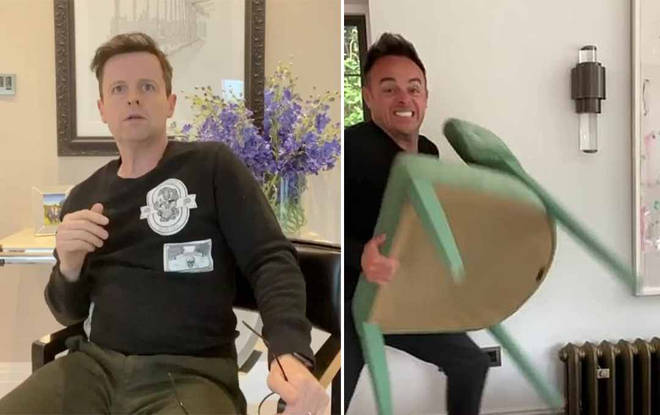 Ant and Dec's entertaining new video is on their TikTok
