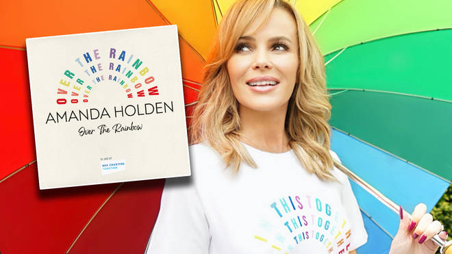 Amanda Holden has released a new charity single in aid of NHS Charities Together