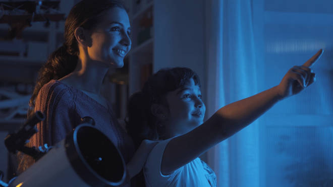 Families will be able to look out their windows and see the comet on it's brightest nights