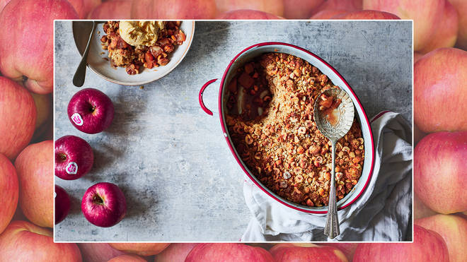 Here's how to make a delicious apple crumble
