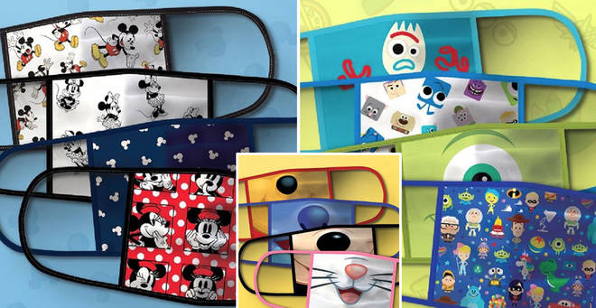Disney face masks are now on sale