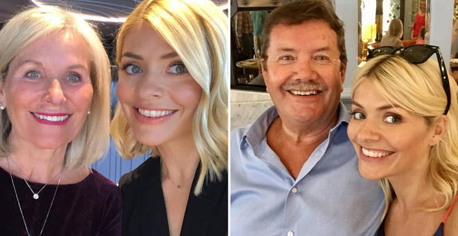 Who are Holly Willoughby's parents?