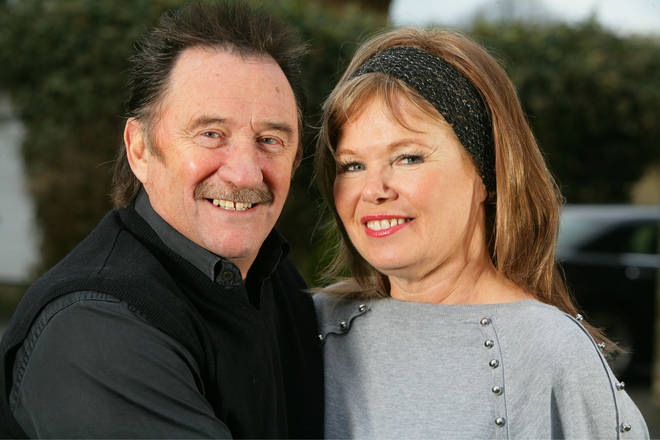 Paul Chuckle and his wife Sue