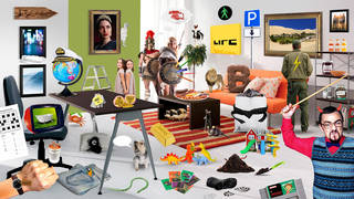 Can you find the fifty 90s things in this picture?