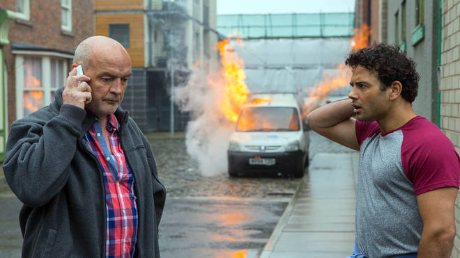 Jason Grimshaw was tricked out of Weatherfield by Pat Phelan
