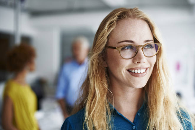 It's possible to get prescription glasses with blue light technology