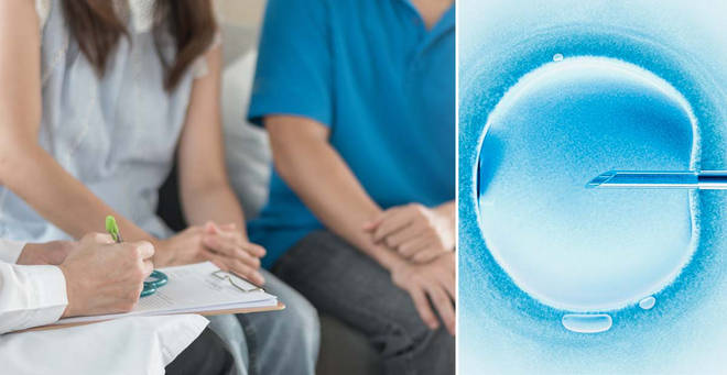 Fertility treatments will be restored, the government announced today (stock images)