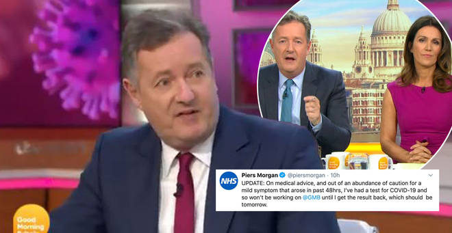 Piers Morgan will not be appearing on GMB