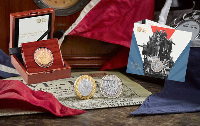 The new range has affordable and pricier coins