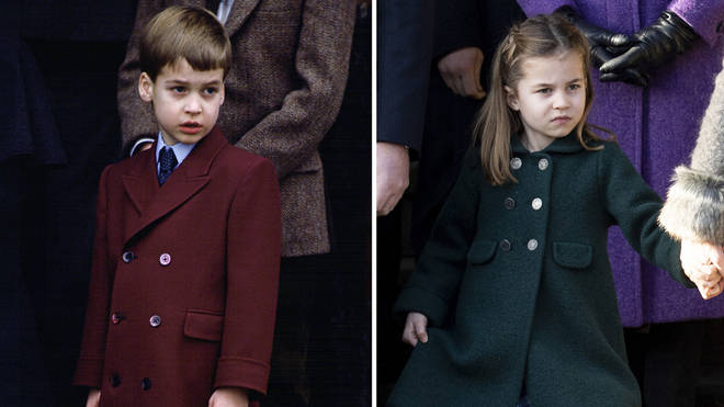 Royal fans were left shocked as they realised the similarities between the father and daughter