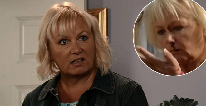 Coronation Street's Sue Cleaver revealed she was knocked out on set