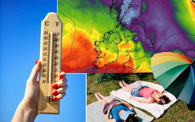 The temperature is set to shoot up this week