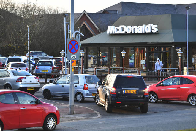 """McDonald&squot;s have said they are """"working hard"""" to reopen their other branches"""