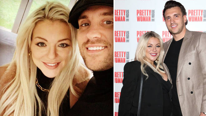 Sheridan Smith and her fiancé Jamie Horn