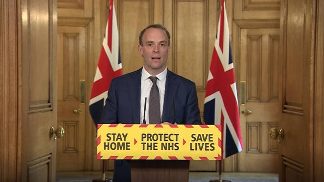 Foreign Minister Dominic Raab announced that the UK's National Security Centre and the US Cyber Security and Infrastructure Security Agency have published a joint warning to organisations and the public over cyber scams
