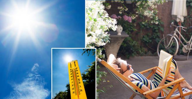The UK will see a mini heatwave this weekend