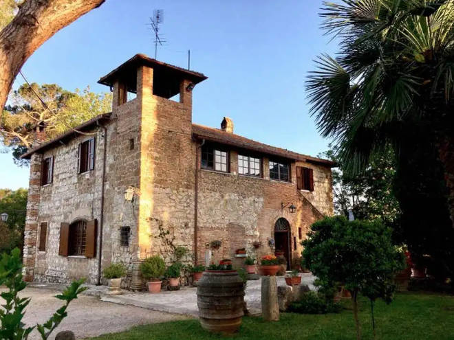 The Italian villa from Normal People