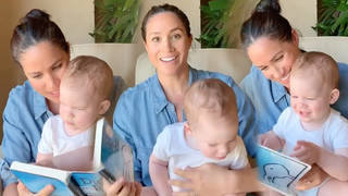 The Duke and Duchess of Sussex have released new footage of baby Archie as he turns one.
