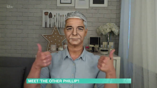 Alana shocked Phillip Schofield with her transformation