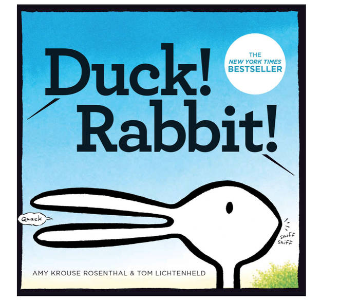 Duck! Rabbit! by Amy Krouse Rosenthal and Tom Lichtenheld is available to purchase on Amazon