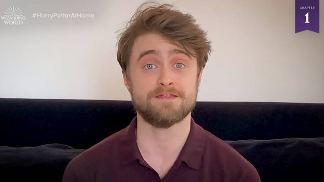 Daniel Radcliffe read the first chapter of the first book, titled The Boy Who Lived