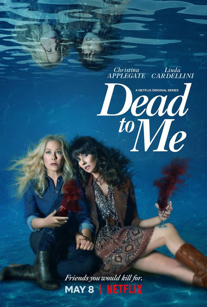 Dead To Me season one ended with Steve shot in the pool