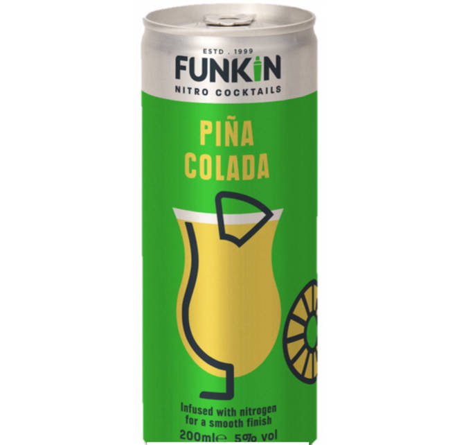 This canned Piña Colada is the perfect summery drink