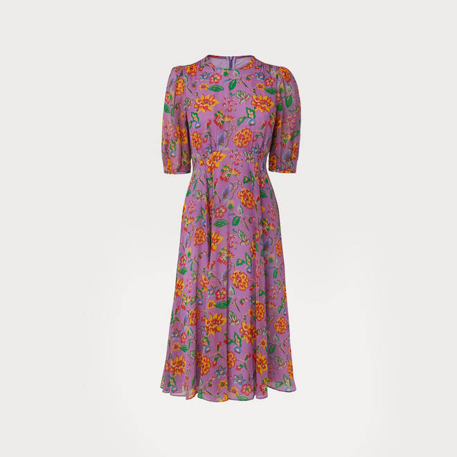 Holly Willoughby's floral dress is in the sale