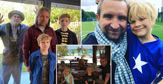 Eddie Marson and his family are appearing on Isolation Stories