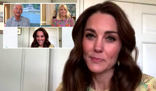 Kate Middleton appeared on This Morning to talk about her new project