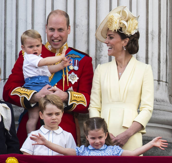 Kate and William have been homeschooling George, Charlotte and Louis