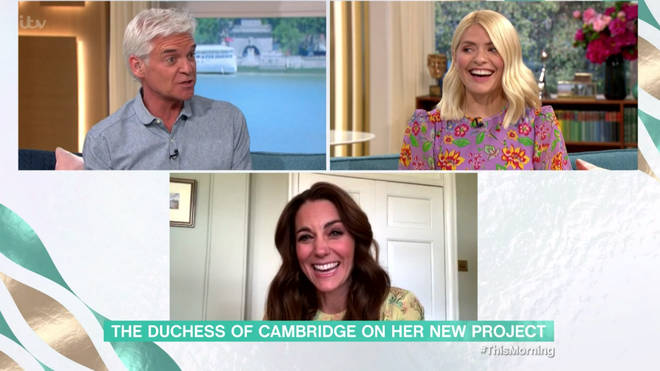Kate Middleton urged Holly Willoughby and Phillip Schofield to enter in the photography project