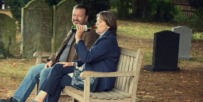 Ricky Gervais is working on After Life season three