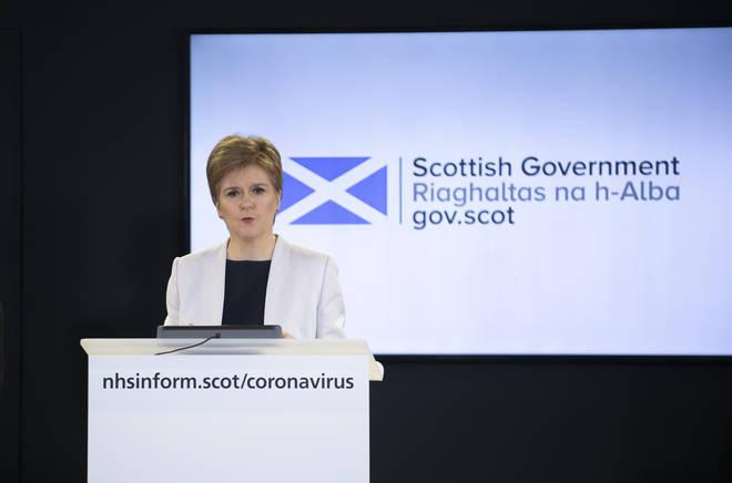 Nicola Sturgeon says she 'won't be pressured' into lifting lockdown