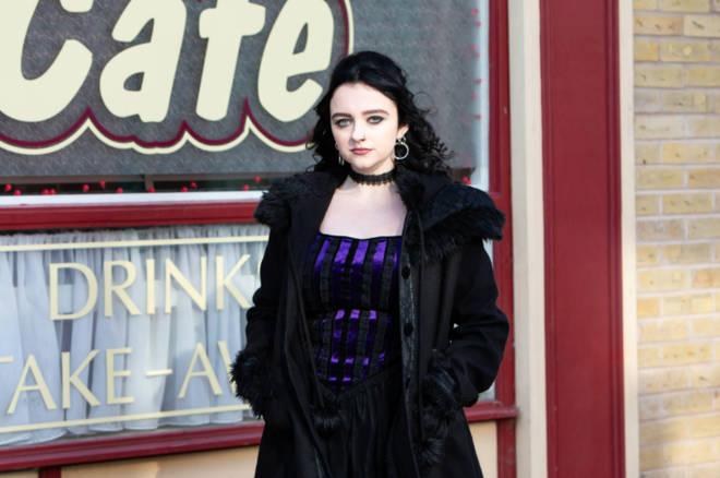 Nina is Roy Cropper's niece on Coronation Street
