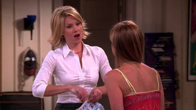 Christina Applegate appeared in two episodes of Friends