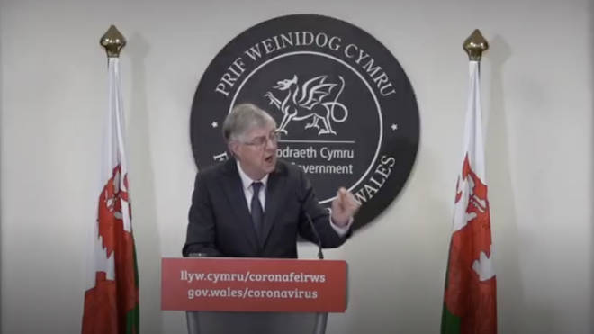 First Minister Mark Drakeford announces changes to Wales' lockdown