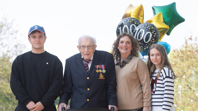 Captain Tom Moore celebrated his 100th birthday last month