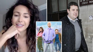 Michelle Keegan has said she would love to work with Peter Kay