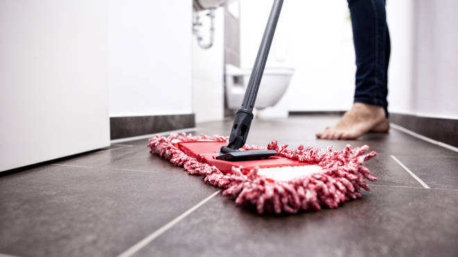Domestic cleaners can still work under government guidelines (stock image)